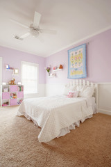 Interior of Girl's Bedroom
