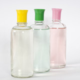 perfumery glass bottles