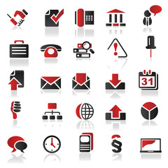 red icons set 3