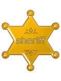 sheriff star poster