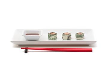 Money sushi