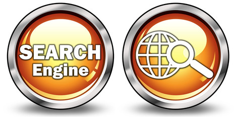 "Glossy 3D Style Buttons ""Search Engine"""