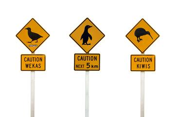 Panneaux de la circulation - New Zealand