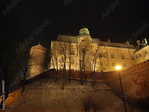 poster of Wawel Hill by night - Krakow