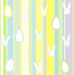 Strisce, conigli e uova
