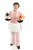Waitress - Regular or Decaf Coffee poster