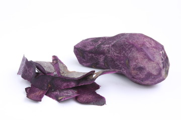 Vitelotte potato