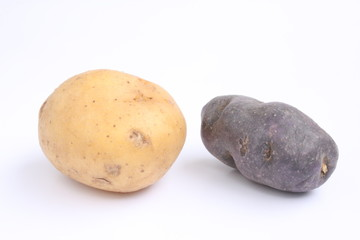 Vitelotte and potato