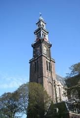 Westerkerk Churchtower Amsterdam