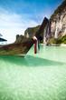 Thaïlande, bateau traditionnel