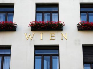 Wiener Hausfassade