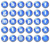 Alphabet Buttons (Lowercase)