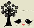 Black birds.