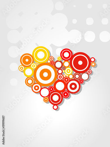 Heart Vector aristic design