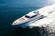 canvas print picture - yacht en méditerranée