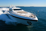 Fototapeta yacht en méditerranée