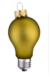 lightbulb ornament