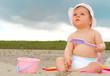 Baby on the beach