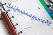 Kalendereintrag Zeitmanagement