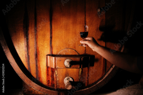 Barrel Abstract V