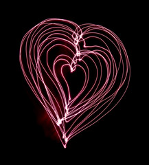 Light Heart shape