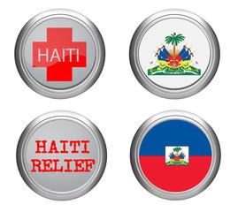 haiti icon and flag