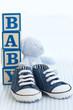 Fototapete Schuh - Babyschuhe - Schuhe