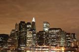 lower Manhattan Skyline At Night - 20030018