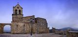Iglesia de Frias un dia de invierno (panorama) poster