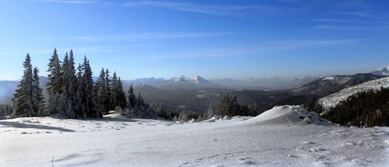 Winterlandschaft - prealpine landscape in winter