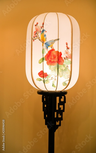 chinese  Ancient Lamp