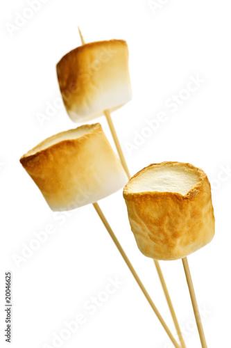 Fotobehang Snoepjes Toasted marshmallows