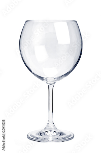 Empty red wine glass - 20048235