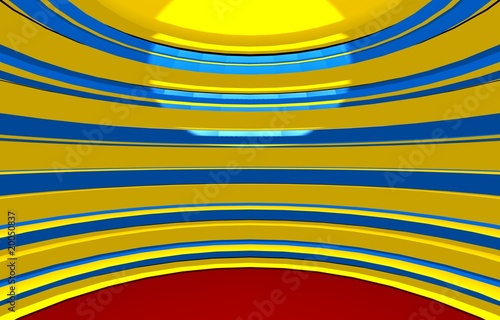 Fototapeta Simple abstraction circus