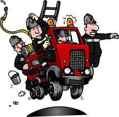 camion pompier