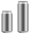 Blank beer can in 2 variants 330 and 500 ml - 20055838