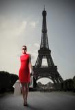 Fototapeta zakupy - Eiffel - Inne