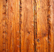 Exterior wooden plank