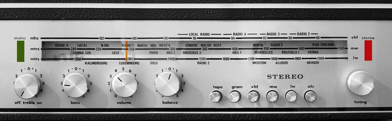 Radio Tuner Vintage