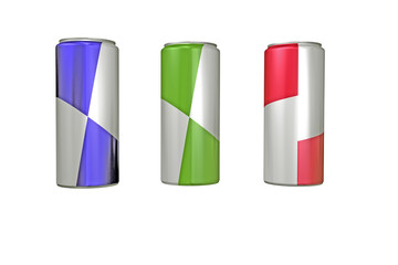 latas Energéticas colores
