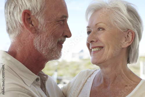 Beautiful seniors couple