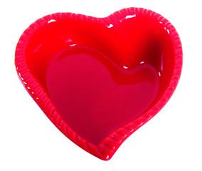 Saint Valentin - Récipient forme de coeur