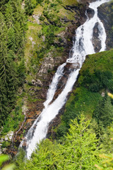 Stuibenfall - the lagest waterfall in Tirol, Austria