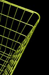 Side of shopping basket