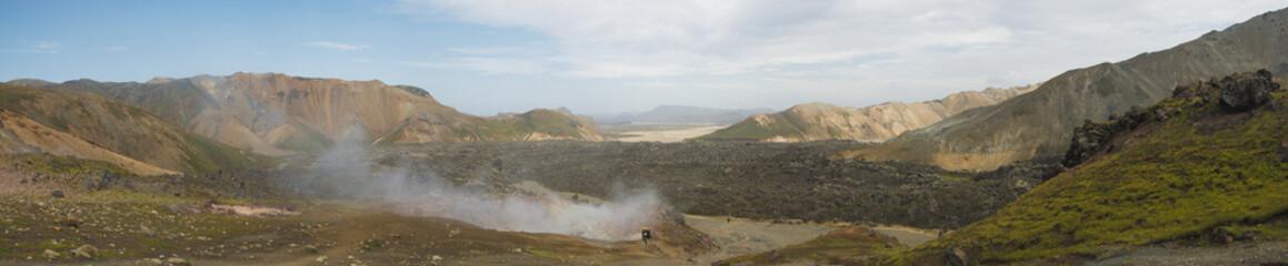 Panorama de Landmannalaugar 1