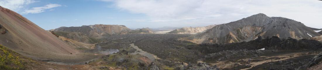 Panorama de Landmannalaugar 2
