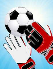 Goalkeeper hands