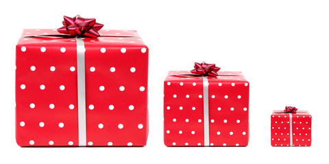 3 red gifts