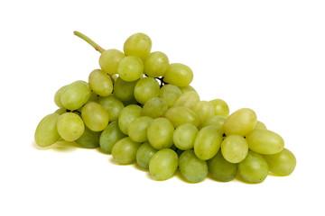 Fruits et vitamines - grappe de raisins vert