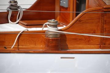 winch barco clasico